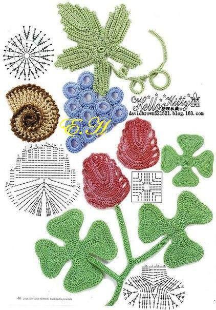 .Irish crochet motifs #irishcrochetmotifs .Irish crochet motifs #irishcrochetmotifs