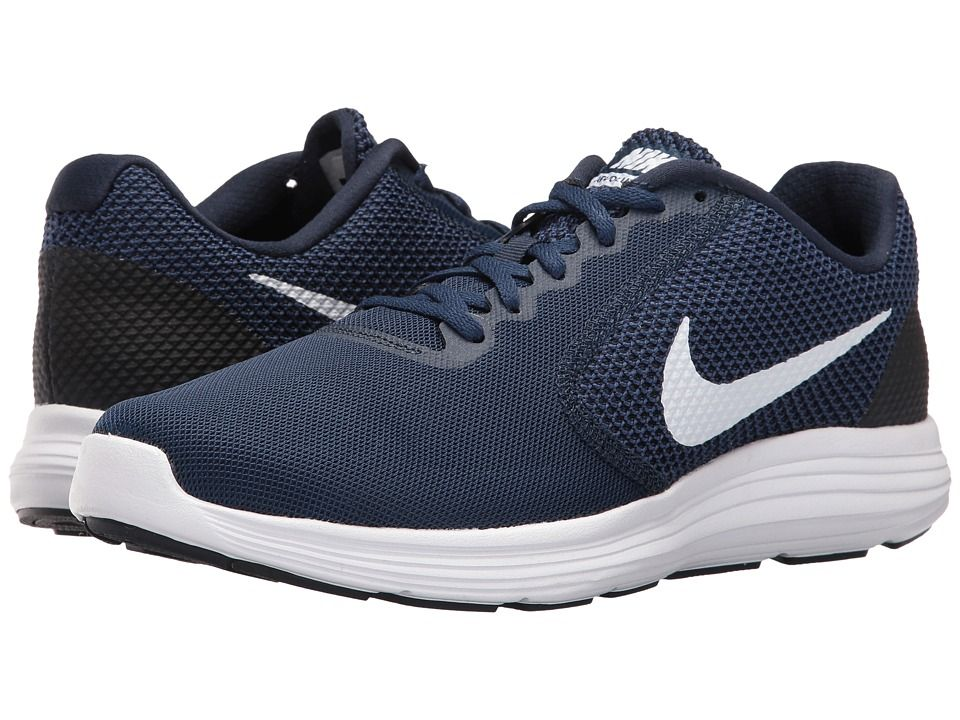 online store d801f 9c355 Nike Revolution 3 Men's Running Shoes Midnight Navy | shoes ...