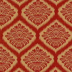 Mumbai Ikat #fabric in #red from the Cypress collection. #Thibaut