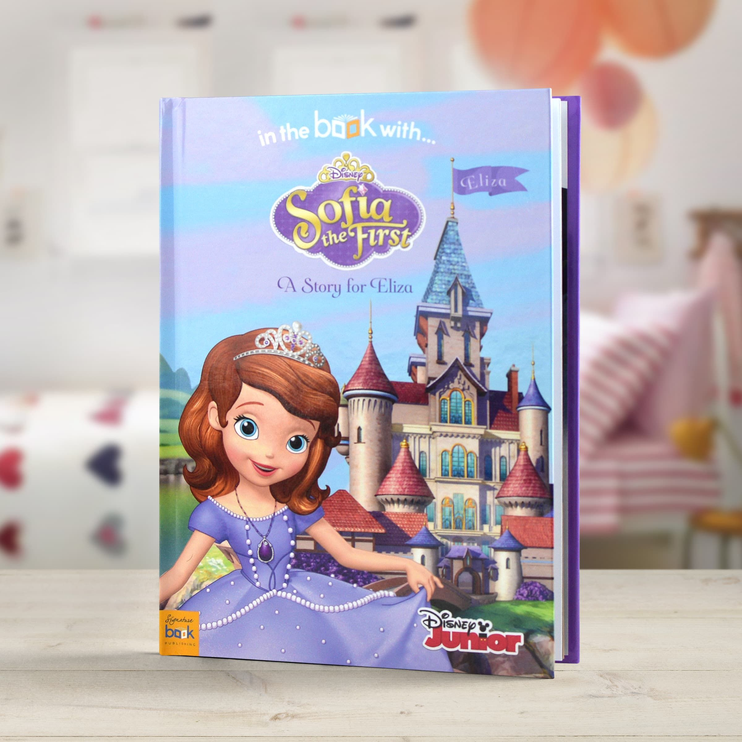 Personalised Sofia the First Story Book