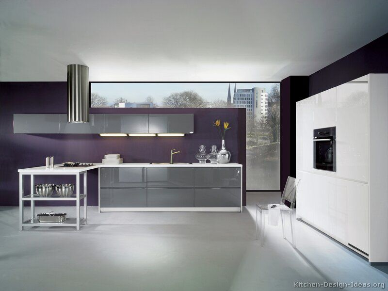 Pictures Of Kitchens Modern Gray Kitchen Cabinets Modern