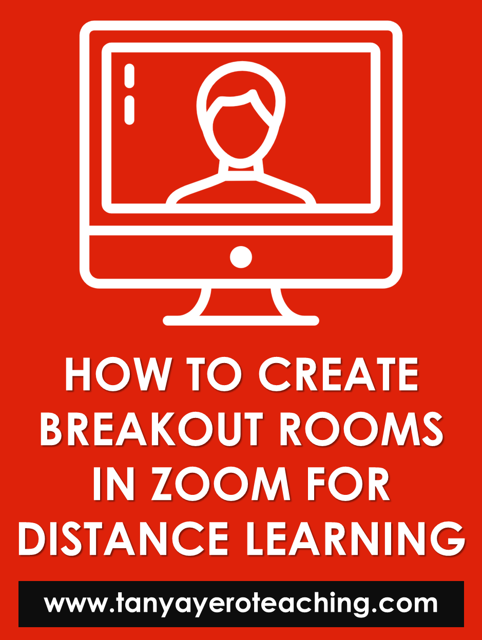 How To Create Zoom Breakout Rooms For Distance Learning Distance Learning Sight Word Practice Elementary Technology