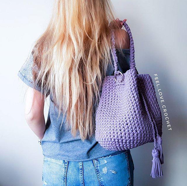 """WEBSTA @ feel.love.crochet - А у меня,  снова рубрика , """"а как же смотрится эта сумочка""""? Все расскажу и покажу,обращайтесь"""
