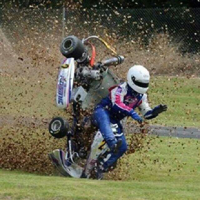 Summit Racing Helmets >> Kart Crash | Gasparov Motorsport | Pinterest | Karting, Auto racing and Sports cars