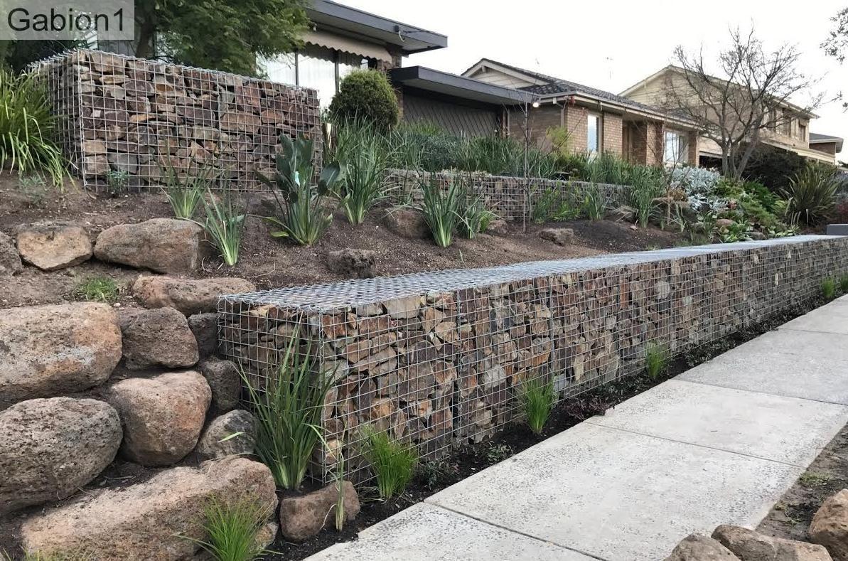 Retaining Wall Permit Retainingwall Terraced Landscaping