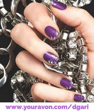#ManiMonday: Pump up the purple with Gel Finish 7-in-1 Nail Enamel in Purplicious! https://www.avon.com/product/gel-finish-7-in-1-nail-enamel-57401?rep=dgari #nailenamel #beauty #manicure