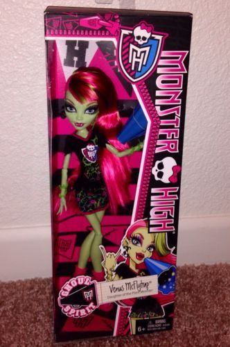 MONSTER HIGH GHOUL SPIRIT VENUS NEW JUST RELEASED In Hand