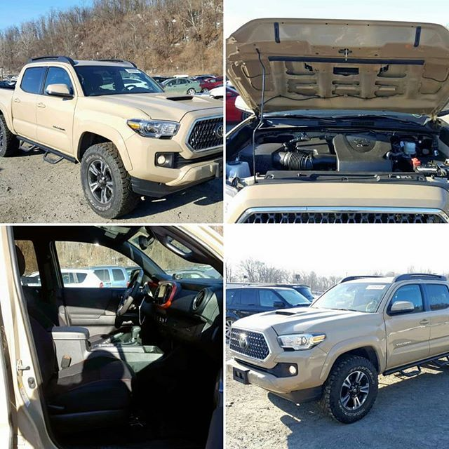 2019 #toyota #tacoma #trd Repaired Collision Runs And