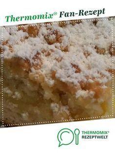 Streuselkuchen mit Vanillepudding vom Blech