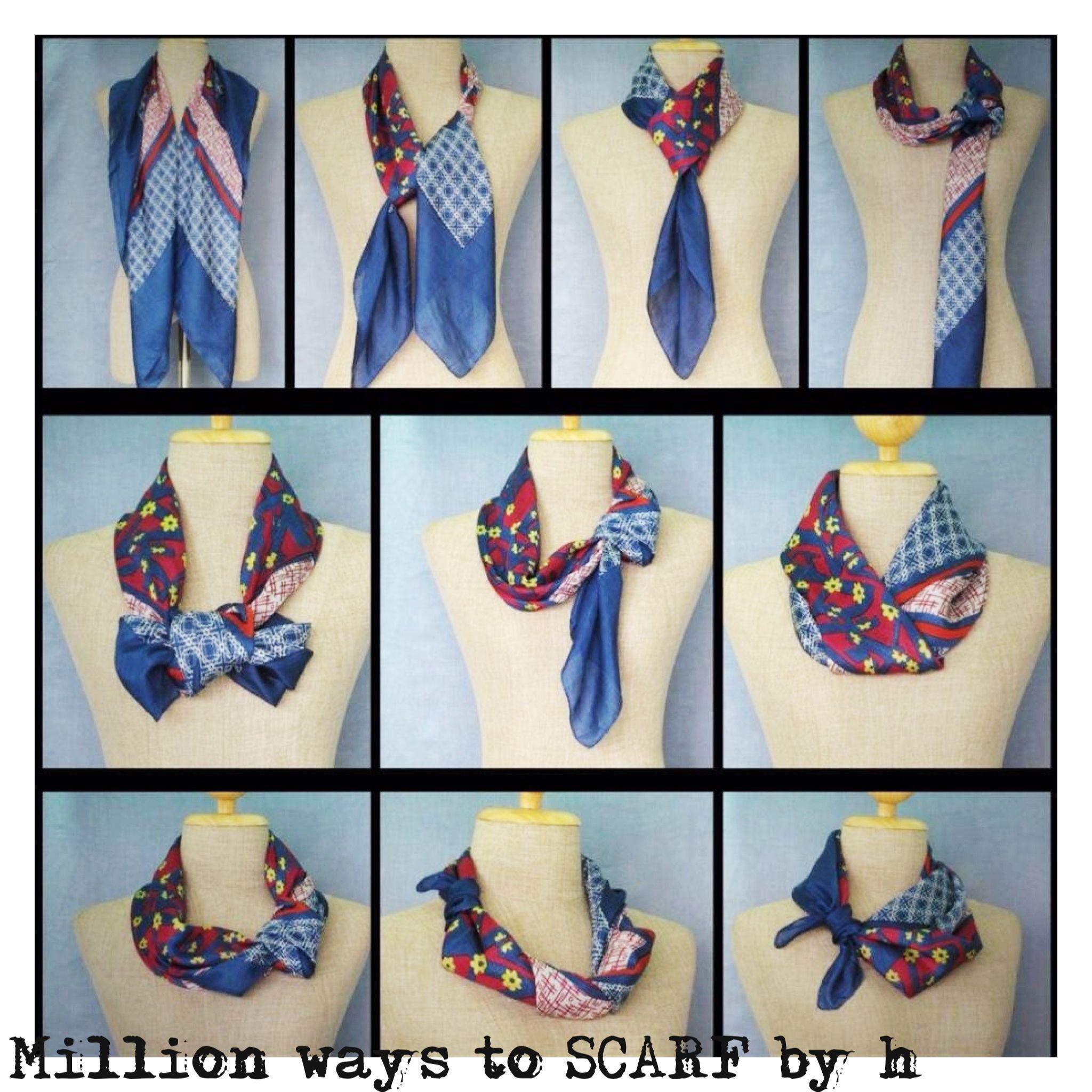 More fun way to tie scarf  a2a176e25