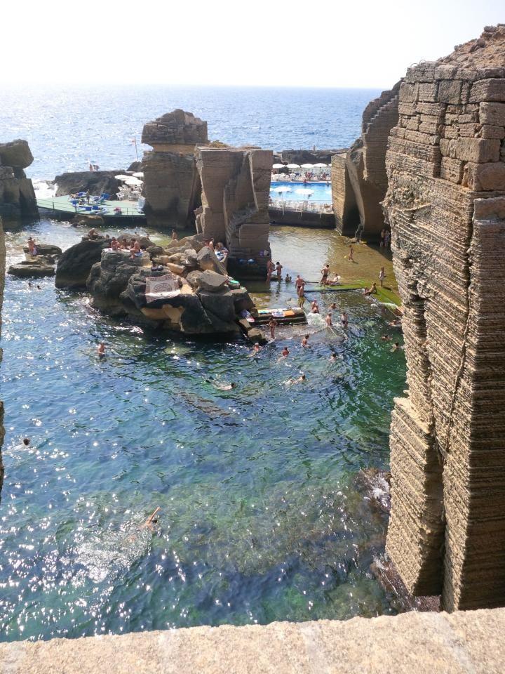Bagno Marino Archi Santa Cesarea Terme Stabilimento Balneare