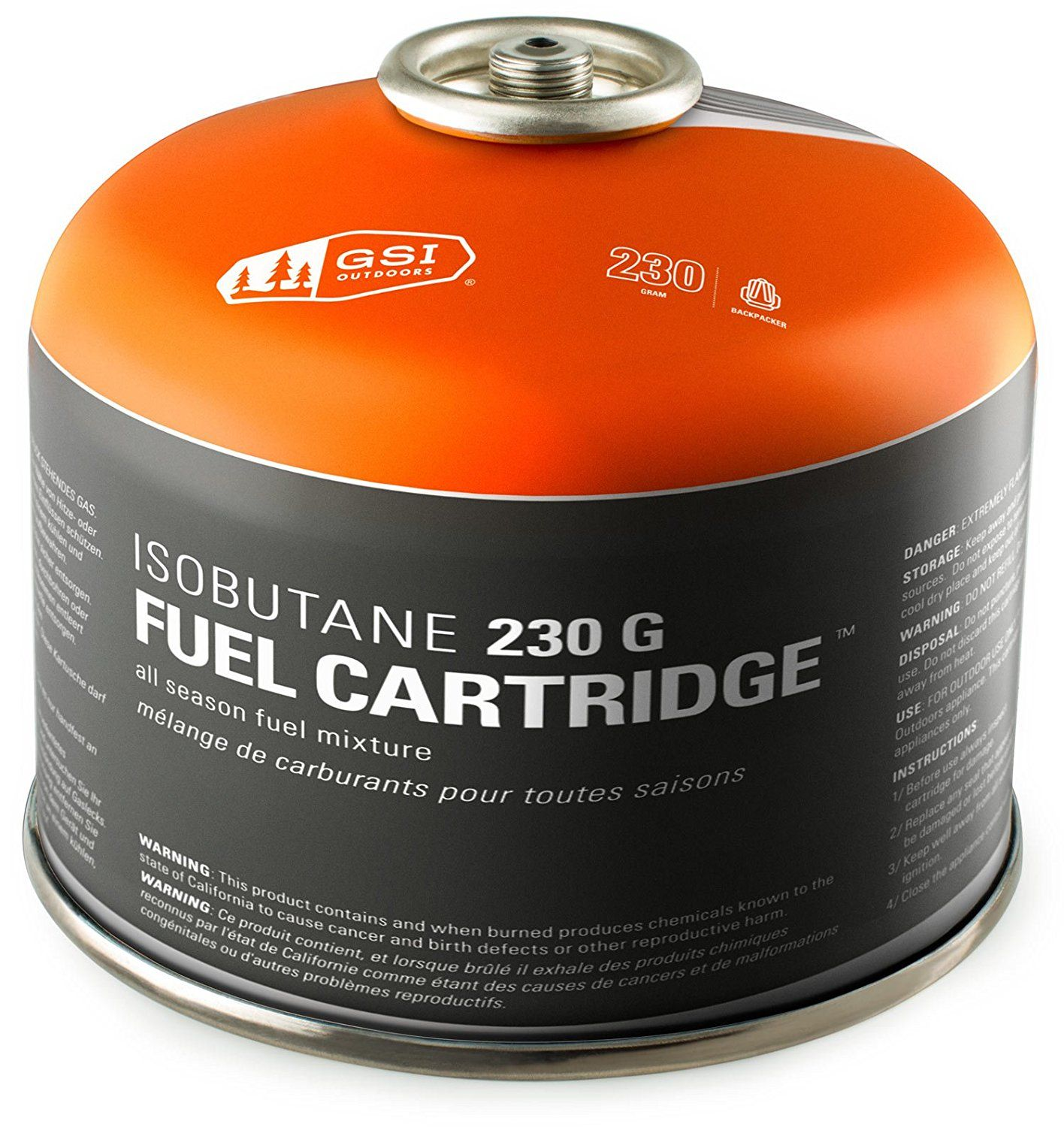 Gsi Iso Butane Gas Canister Four Season Mix This Is An