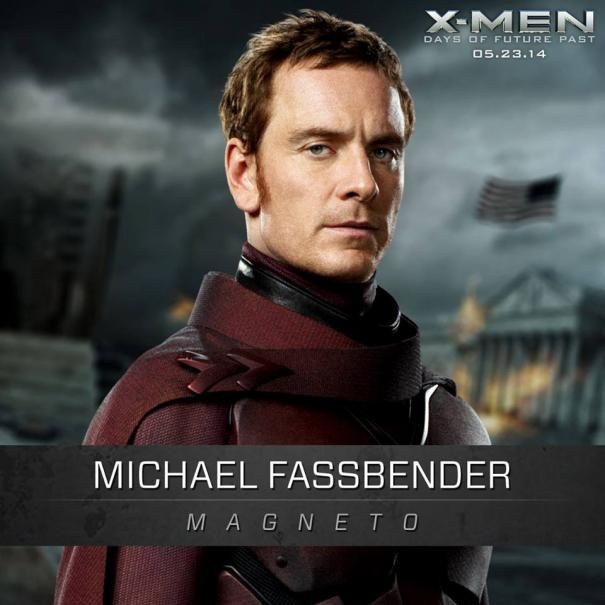 #XMen: Days of Future Past - Michael Fassbender as Magneto