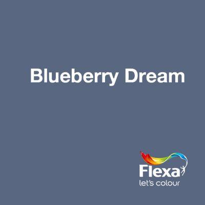 Photo of Sammlung: Creations Farbe: Blueberry Dream URL: www.flexa.nl / …
