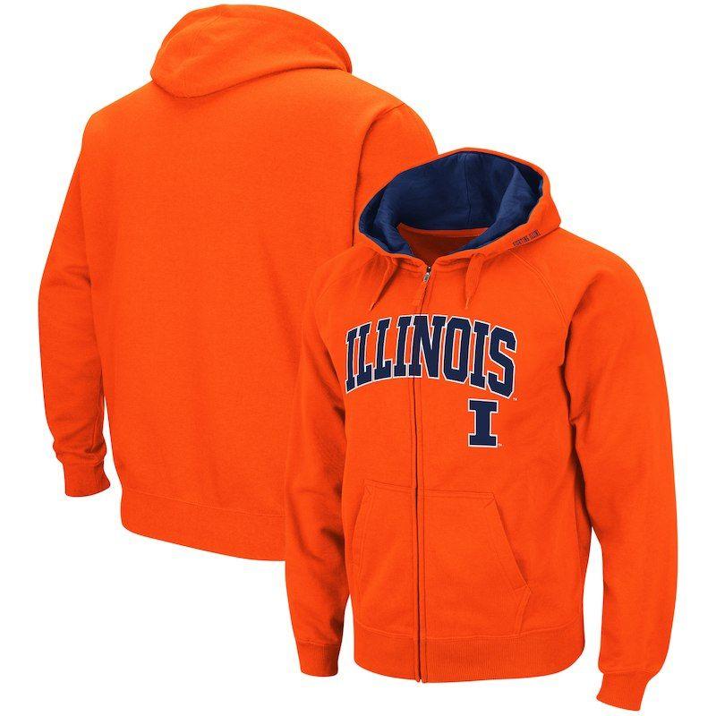 Nike NCAA Youth Illinois Fighting Illini ThermaFIT Athletic Pullover Hoodie