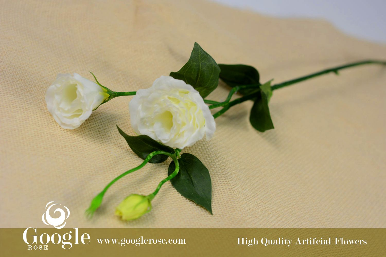 White lisianthus high quality artificial flowers flower for Lisianthus art floral