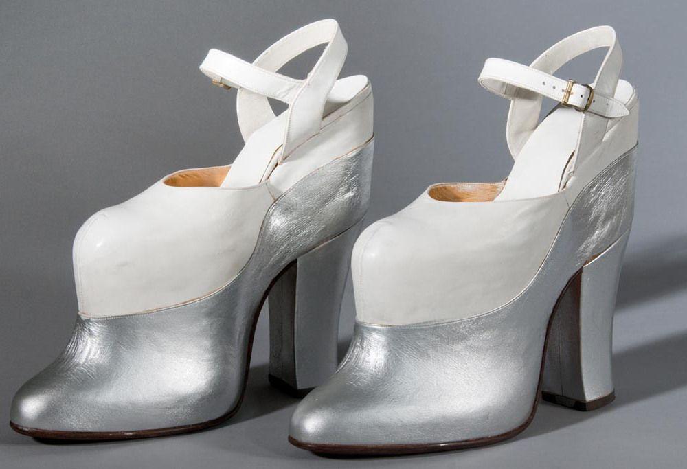 6a1a5f6e52948 Mae West s Wild 9.5-Inch Double Decker Heels  A Look Inside FIDM s ...
