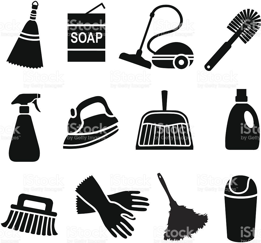 38+ Cleaning supplies clipart free information