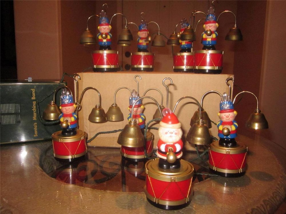 santas marching bandvintage mr christmasmusical 35 carols clappers rareamazin