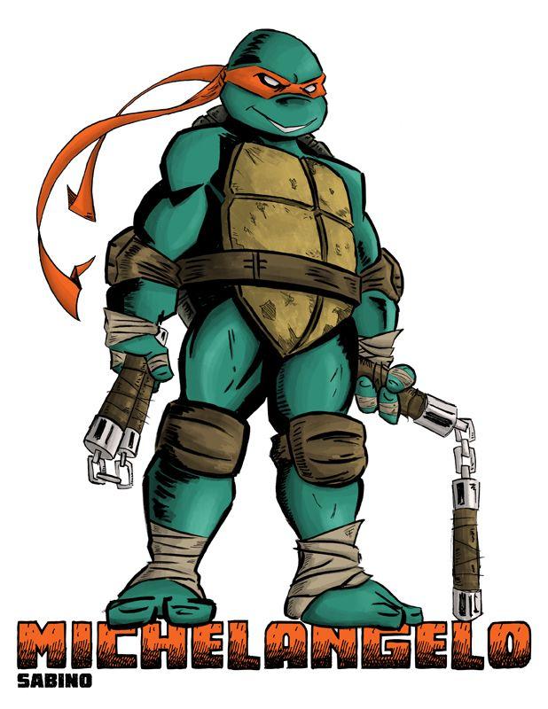 Michelangelo Teenage Mutant Ninja Turtles Artwork Ninja Turtles Artwork Teenage Mutant Ninja Turtles Art