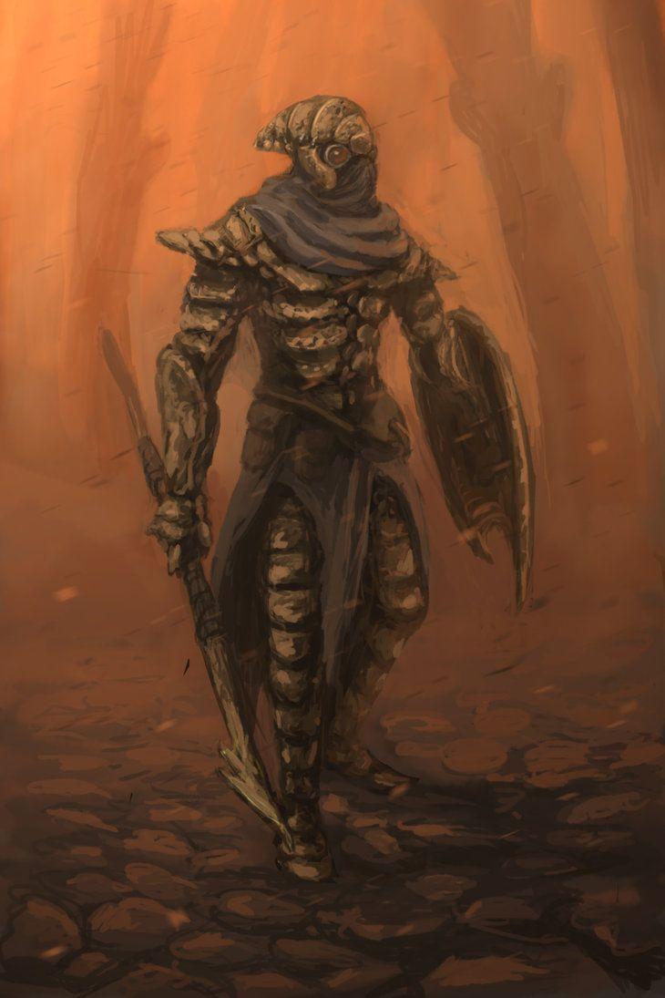 Chitin Armor Concept Art