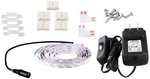 Led Strip Lights Menards Patriot Lighting 164' Flexible Led Tape Light Bright White Light