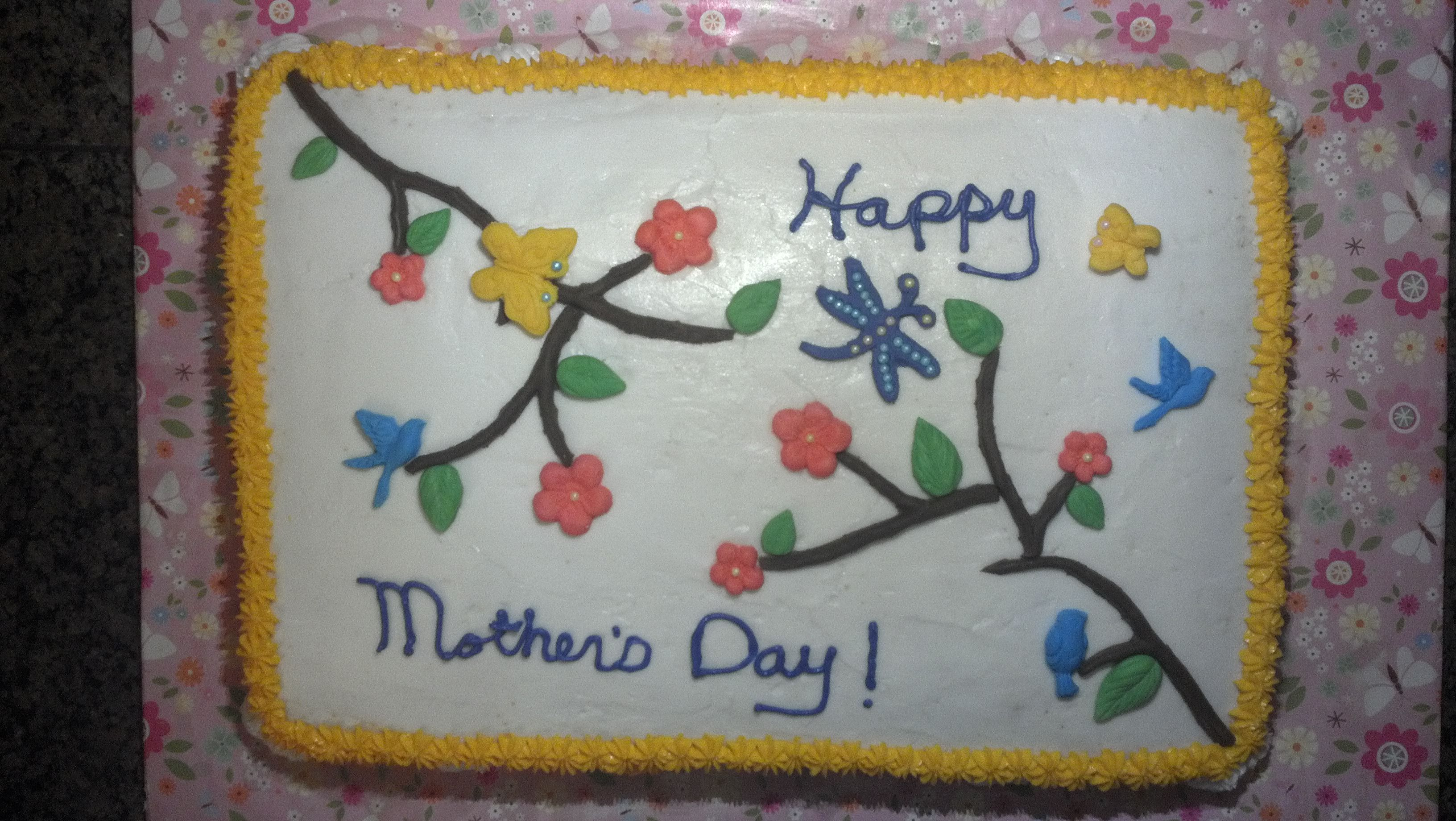 May 2013:  Mother Day Cake