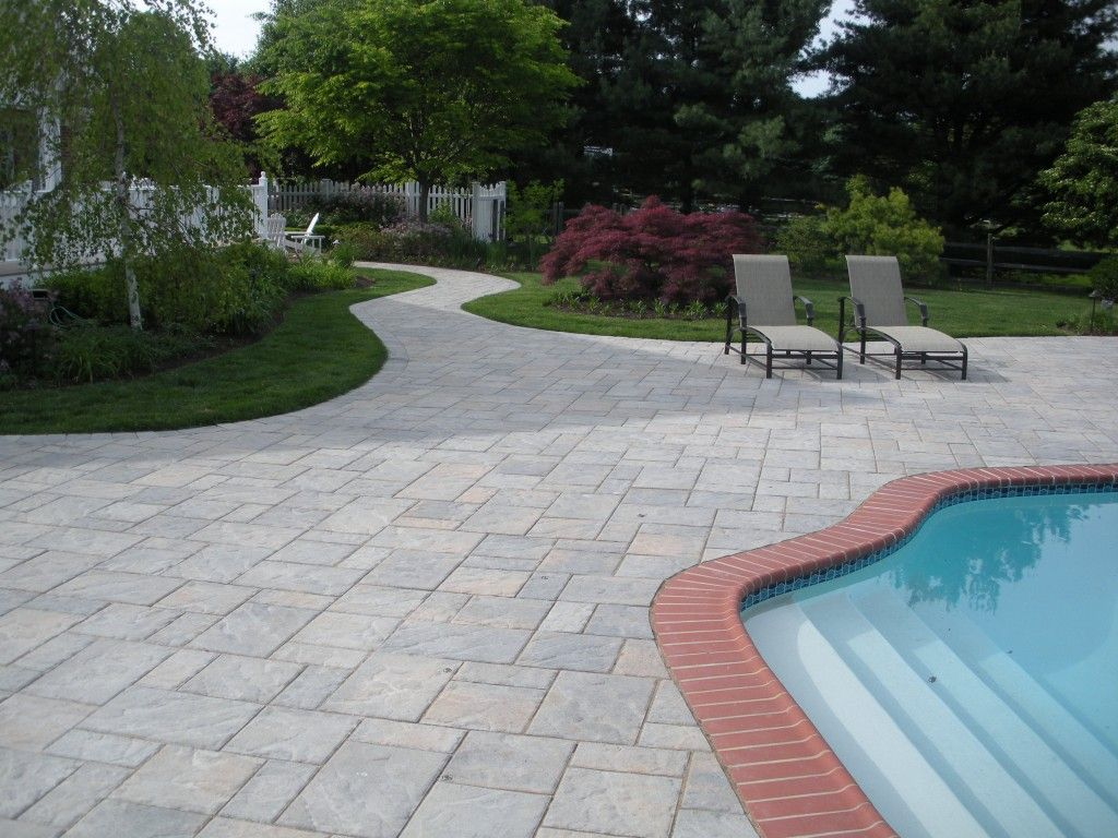 Patios And Pools Pictures | Large Pool Patio Designs | PLSblue U2013 New Hope,  PA