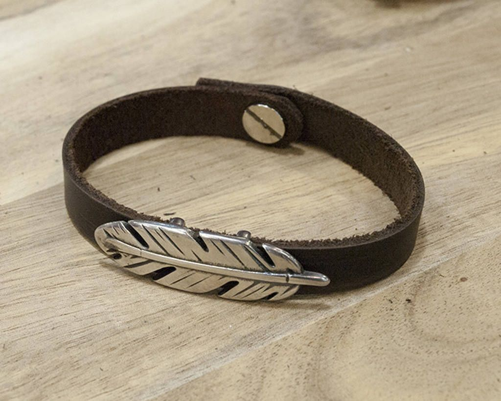 Leather bracelet friendship bracelet wrap bracelet unisex
