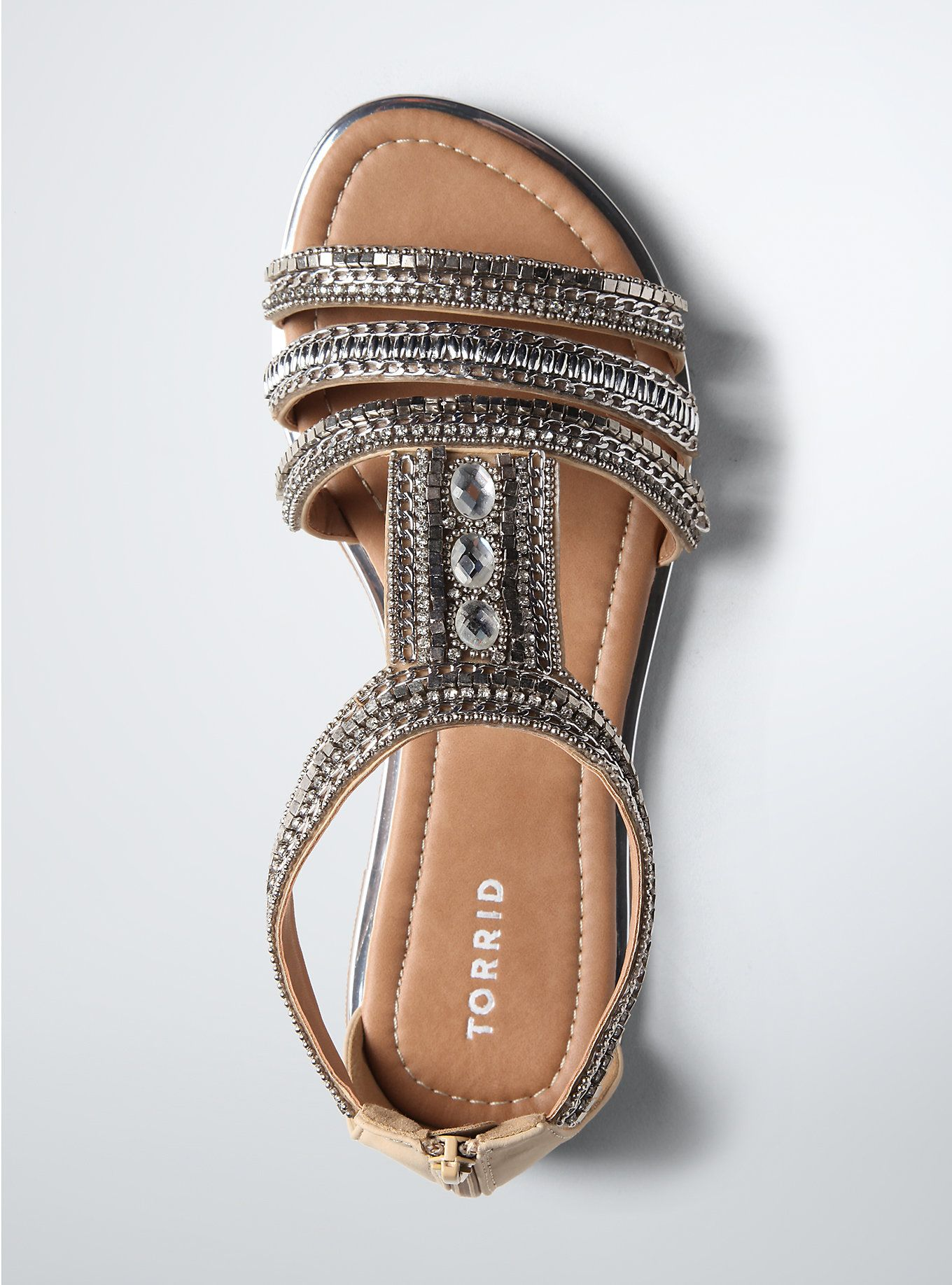 3210bc636a10 Multi Beaded Gladiator Sandals (Wide Width) in 2019
