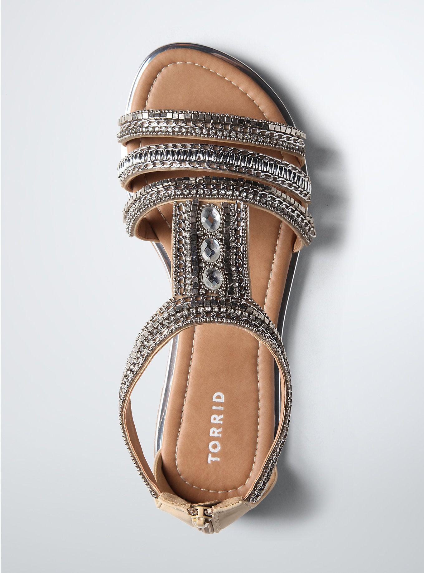 e52582131f4d5 Multi Beaded Gladiator Sandals (Wide Width) in 2019