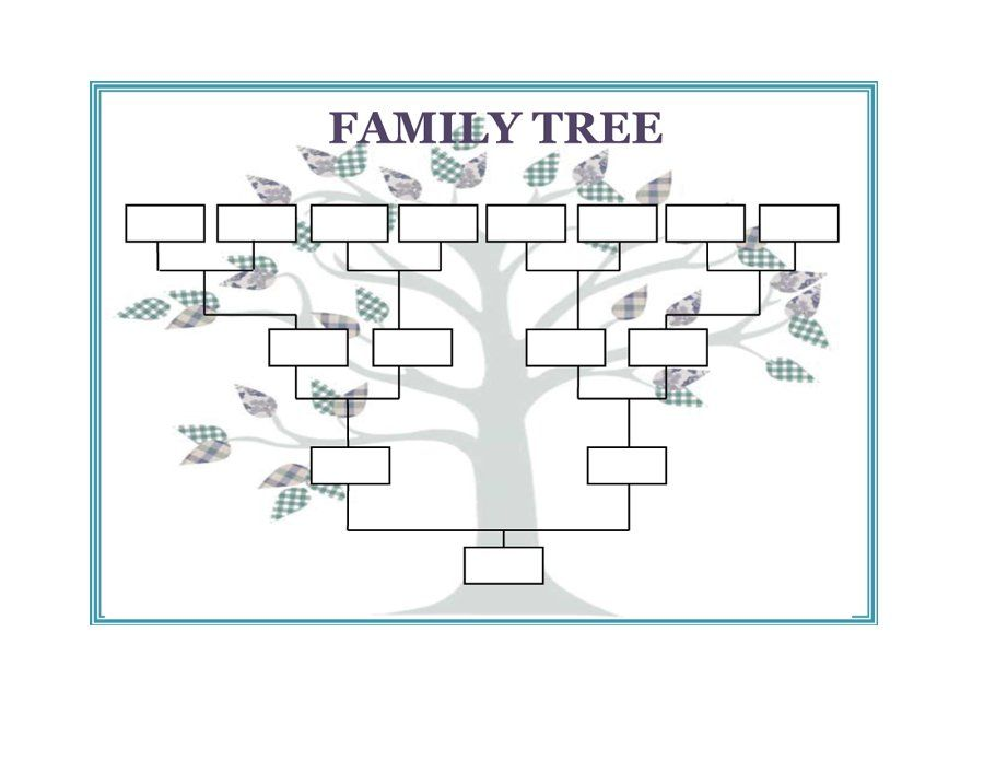 Image result for FAMILY TREE TEMPLATE Modèles du0027arbres - family tree template
