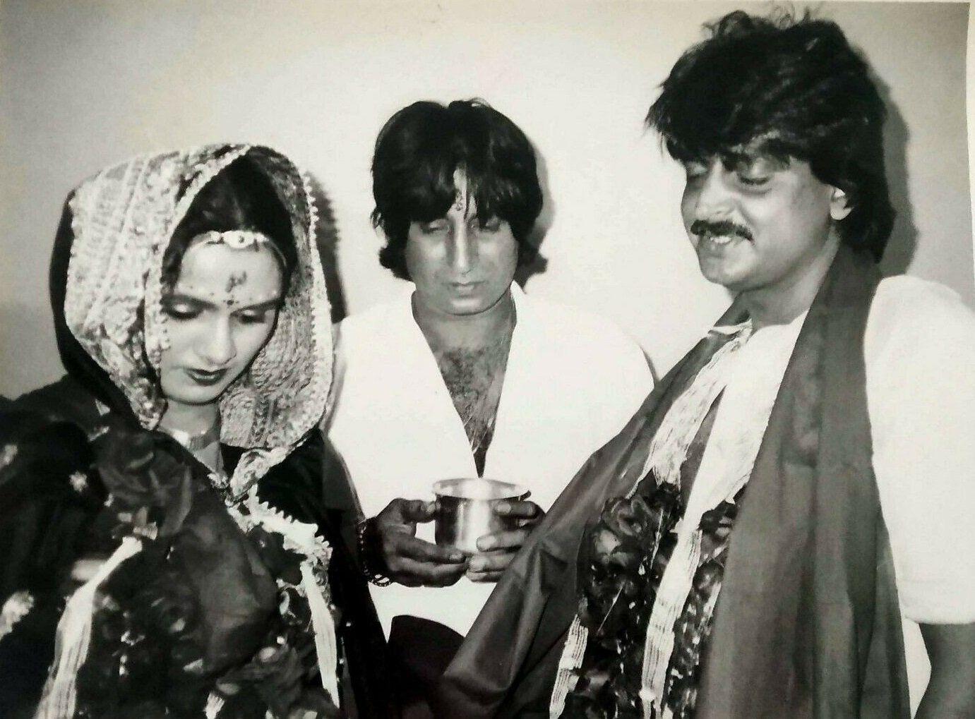 Padmini kolhapure tutu sharma Shakti Kapoor | Bollywood wedding, Actresses, Padmini kolhapure