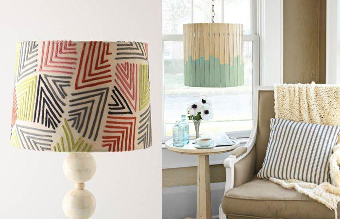 DIY Wohnideen: Lampen selbst gestalten | /// Lampen & Licht ...