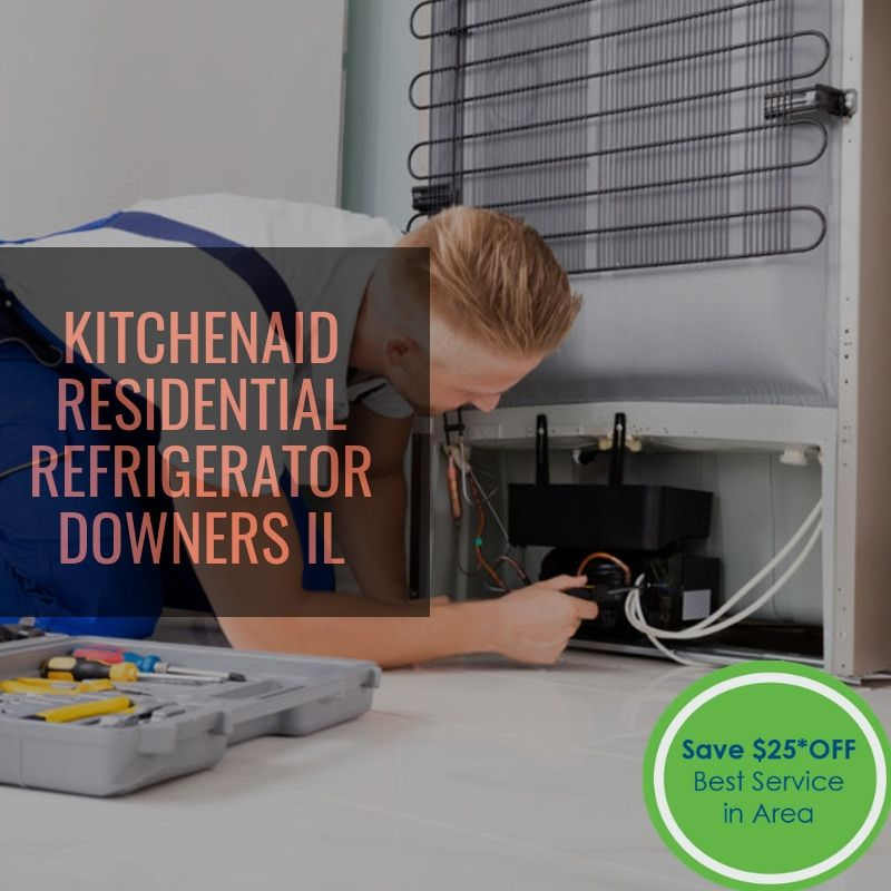Get fast kitchenaid residential refrigerator service in