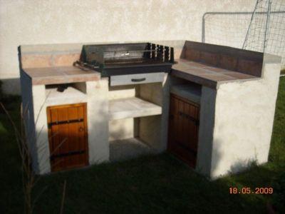 Barbecue pas cher fabriquer vous avez construit - Plan de barbecue exterieur ...
