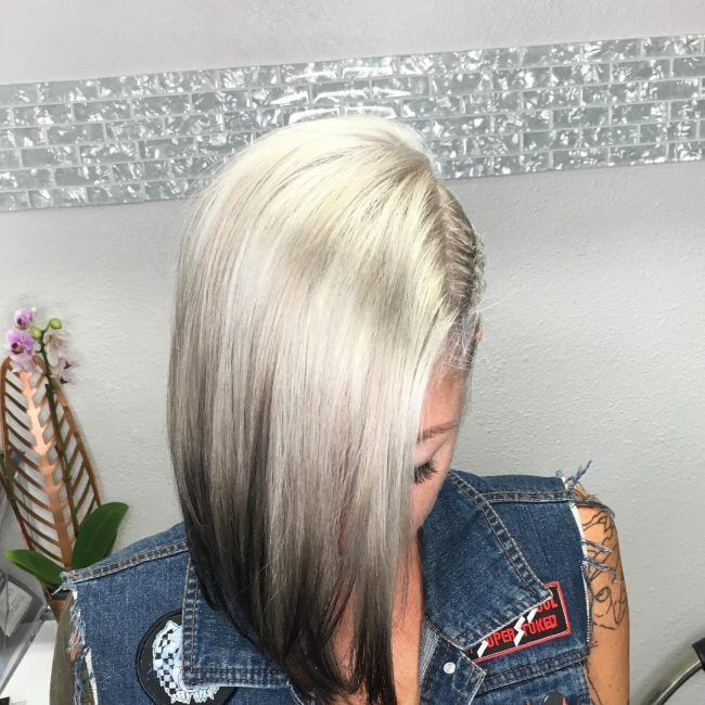 40 Inspirational Reverse Ombre Ideas Trendy Contemporary Styling Reverse Ombre Hair Reverse Ombre Short Ombre Hair