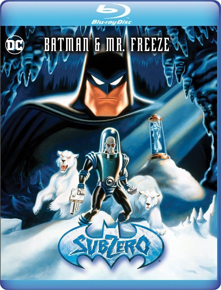 Batman and mr freeze subzero bluray batman tim