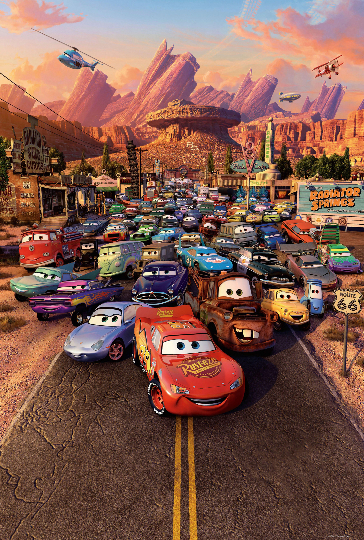 Cars (2006) Disney pixar movies, Cars 2006, Pixar films