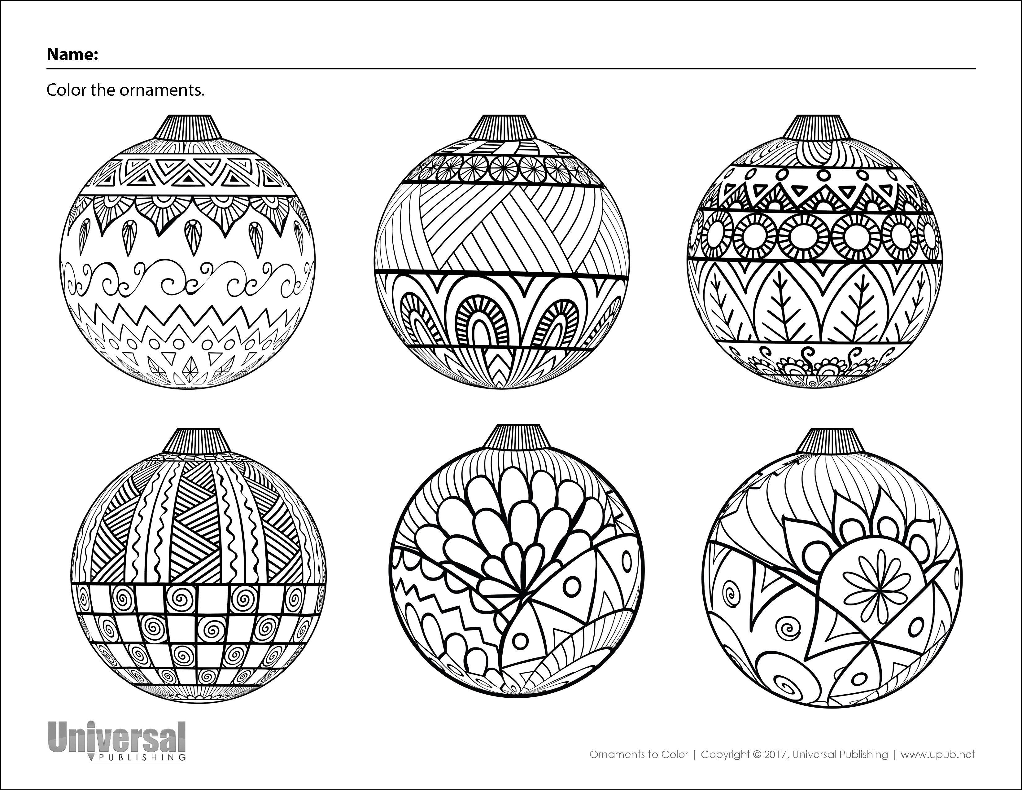 christmas ornament coloring | christmas drawing, christmas