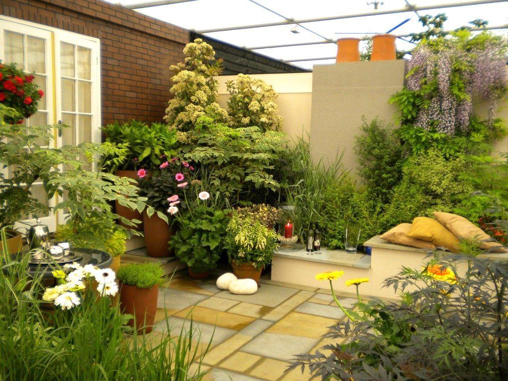 AuBergewohnlich Interessant Garten Hinter Dem Haus Oder Hinterhof   Landschaften Kann Für  Die Einfache Freude, Zum
