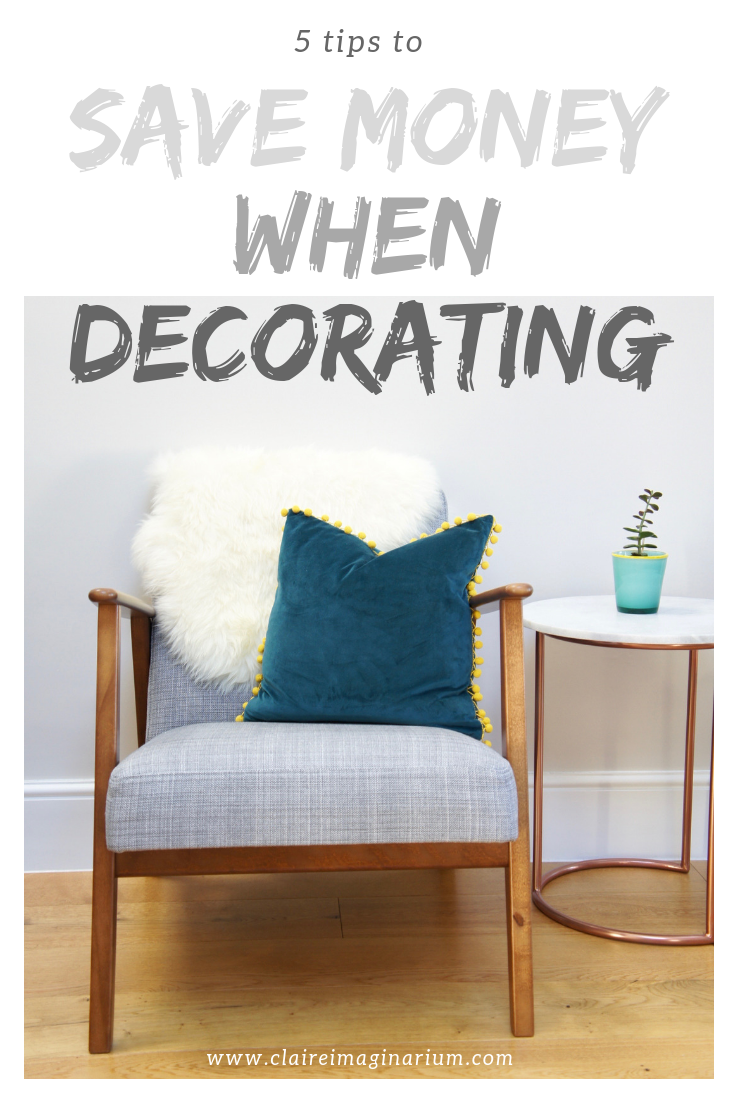5 Tips To Save Money When Decorating Your House Do The Painting Yourself Recycle What
