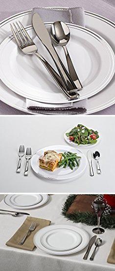 Mozaik Plates. Mozaik 40-Piece Premium Plastic Entertaining Set with Plates \u0026 Cutlery. & Mozaik Plates. Mozaik 40-Piece Premium Plastic Entertaining Set with ...