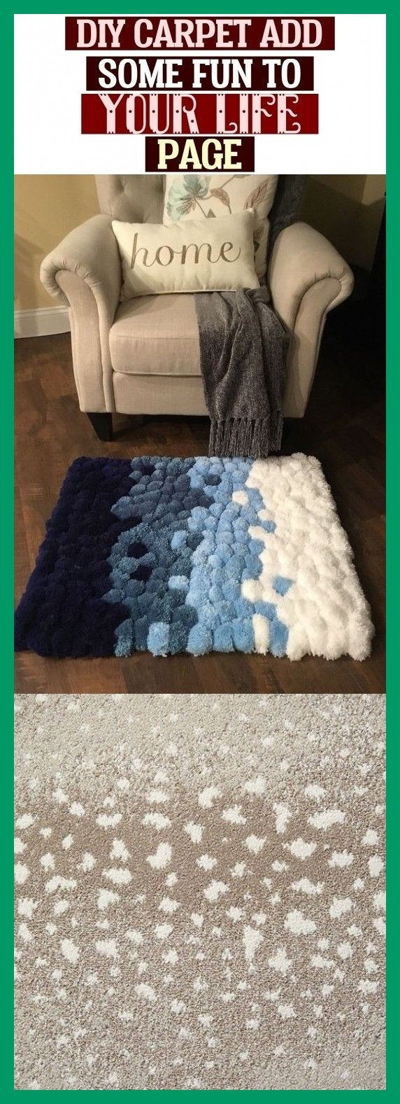 Diy Carpet Add Some Fun To Your Life - Page