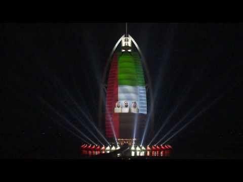 ▶ Burj Al Arab Celebrates the 42nd UAE National Day - Official Video (long) - YouTube