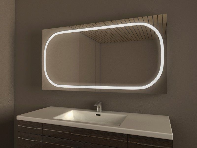 Einzigartiger Badezimmer Spiegelschrank, Unterputz Einbau möglich - badezimmer spiegelschrank beleuchtung