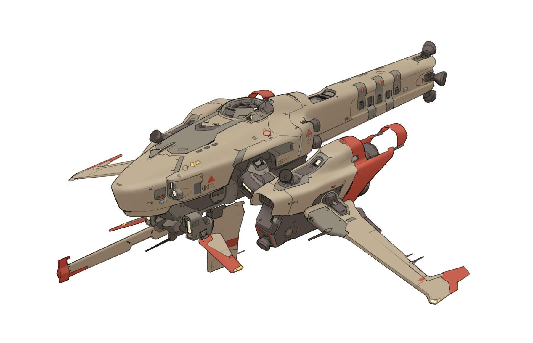 Concept Spaceship Art By Roc Ho Keywords Concept Spaceship Anime