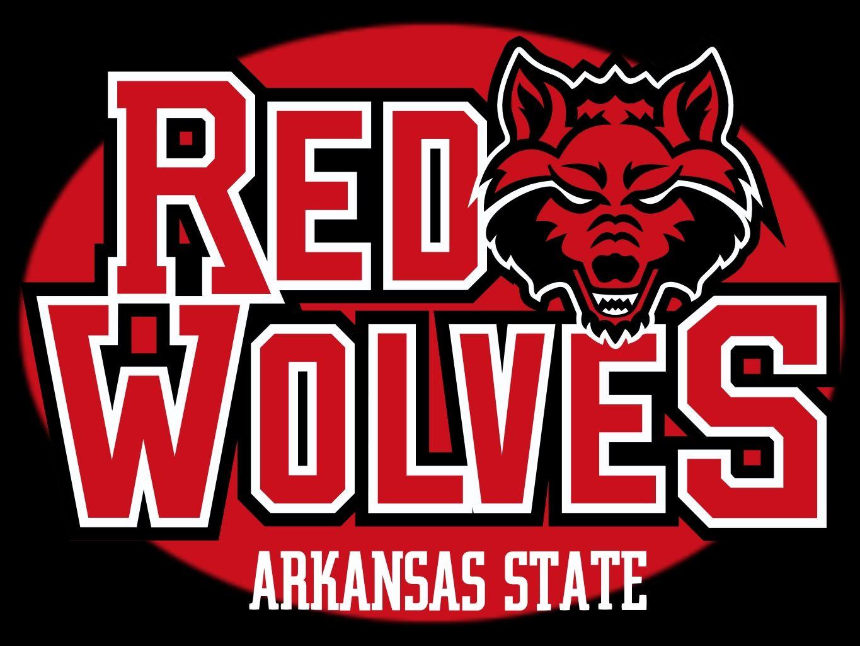 Arkansas State Red Wolves NCAA Football Vinyl Sticker Car Truck Window Decal