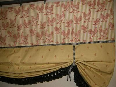 French Country Curtains Valances Valance French Country Curtain - French country valances