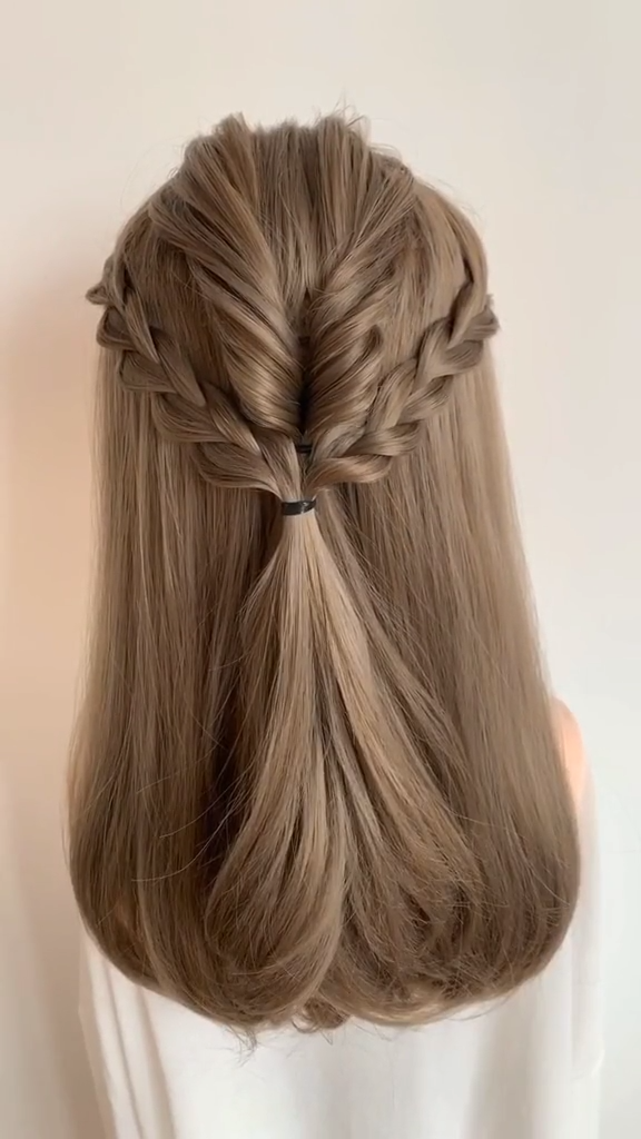 Braided Hairstyles For Long Hair Step By Step Tutorial Video Simple Easy In 2020 Hair Tutorials Easy Hair Tutorial Hair Styles